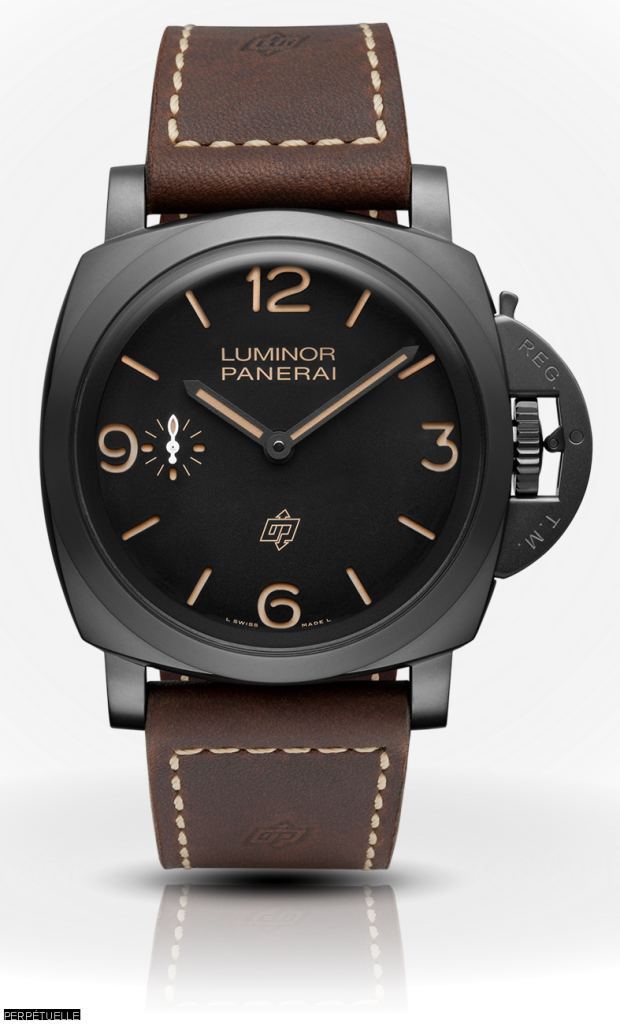Miglior Copia Panerai Luminor 1950 3 Days Titanio DLC Orologi