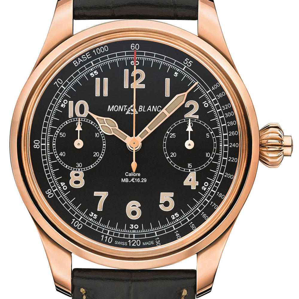 MONTBLANC 1858 Tachymeter Chronograph Replica orologio