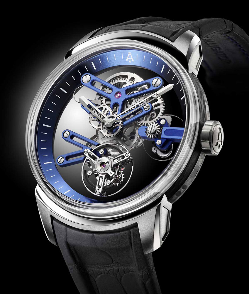 Il bello ANGELUS U20 SKELETON TOURBILLON Replica Orologio