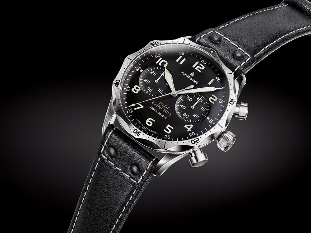 Migliore Fatto Junghans Meister Pilot Chronograph Orologio