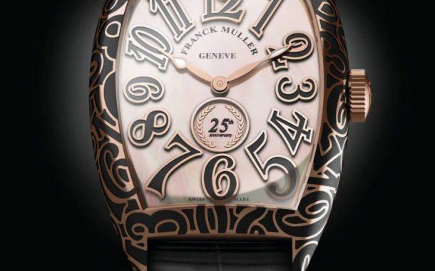 Il lusso Franck Muller Cintrée Curvex 25th Anniversary Orologi di replica