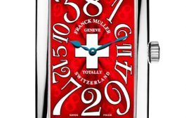 Switzerland Franck Muller Crazy Hours Quadrante Rosso Orologi da copia