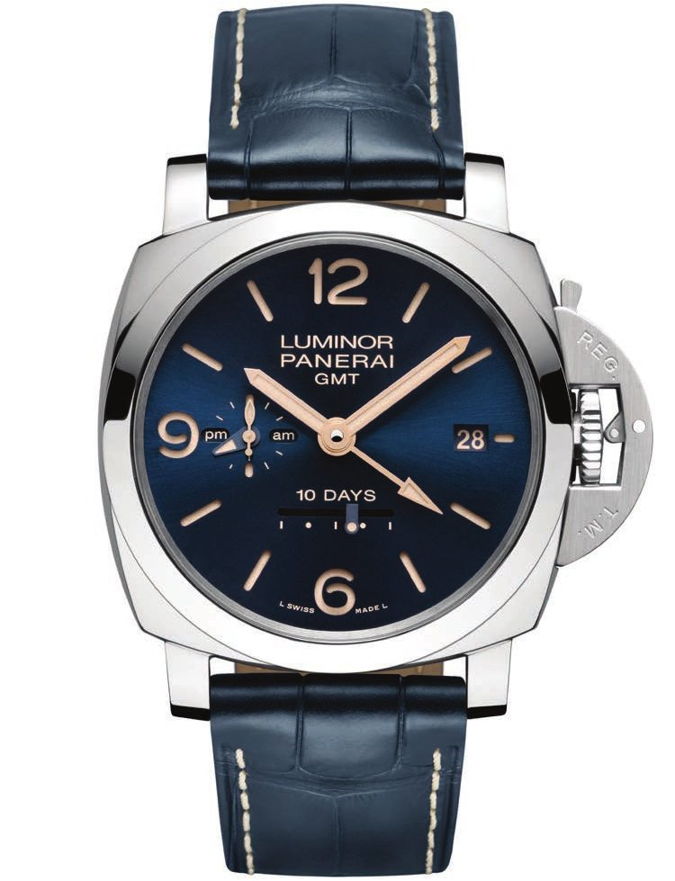 Luminor 1950 10 Days Automatic Acciaio – 44 mm PAM00689 Blue Dial