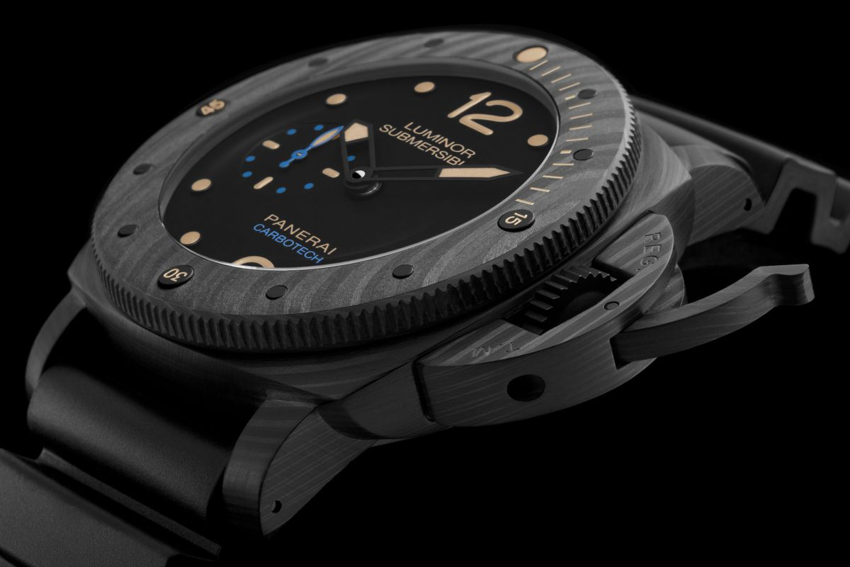 Fidato Panerai Luminor Submersible 1950 Carbotech PAM00616 Orologi Replica Onine Shopping