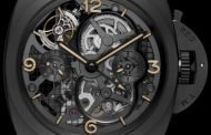 Super replica Panerai Lo Scienziato Luminor 1950 Tourbillon GMT 2013 PAM 528 Orologio Replica all'ingrosso