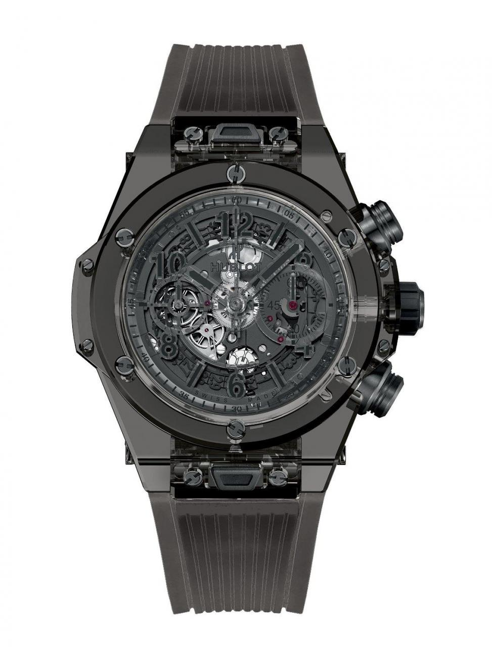 2016 orologio Big Bang Unico Sapphire All Black