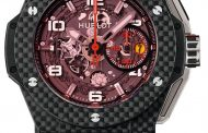 Eta Movement Cronografo Hublot Big Bang Ferrari Carbon Red Magic Orologio Replica all'ingrosso