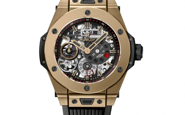 Movimento svizzero Hublot Presenta Big Bang Meca-10 Magic Gold Replica