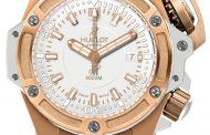 Migliore replica HUBLOT Oceanographic 4000 King Gold White Orologio Replica all'ingrosso