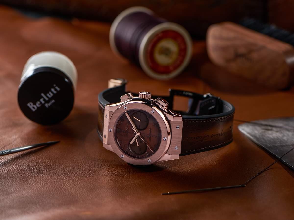 Eta Movement Hublot Presenta gli orologi Classic Fusion Chronograph Berluti Replica 1: 1