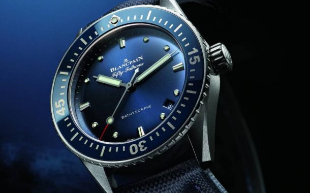 Blancpain Presenta Il Fifty Fathoms Bathyscaphe 38 mm (Video) Replica svizzera del movimento