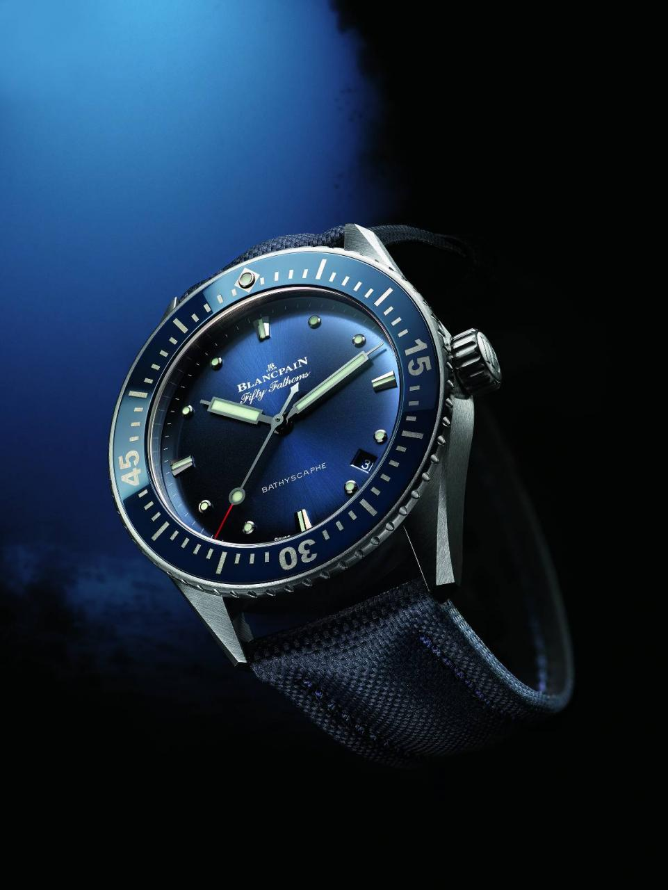 orologio Fifty Fathoms Bathyscaphe 38 mm