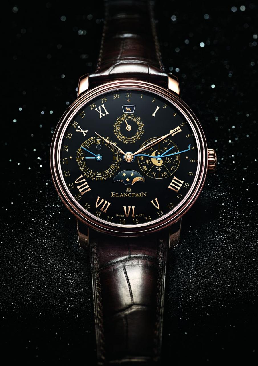 foto Villeret Calendario Cinese Tradizionale Only Watch 2015