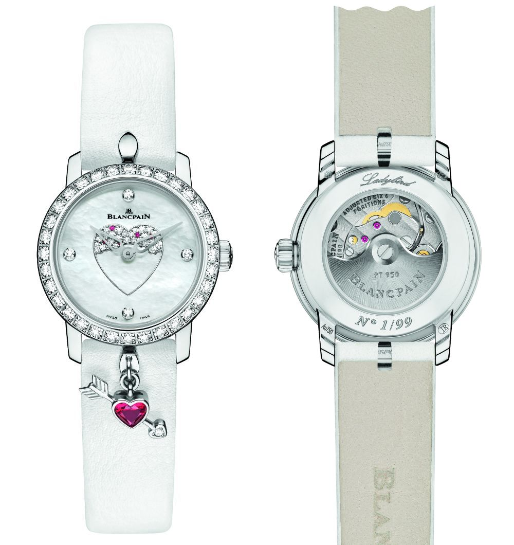 Orologi San Valentino 2016: Blancpain Ladybird Eta Movement Replica