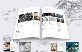 Blancpain 16° Edizione di Lettres du Brassus (Anche su iPad) USA falso