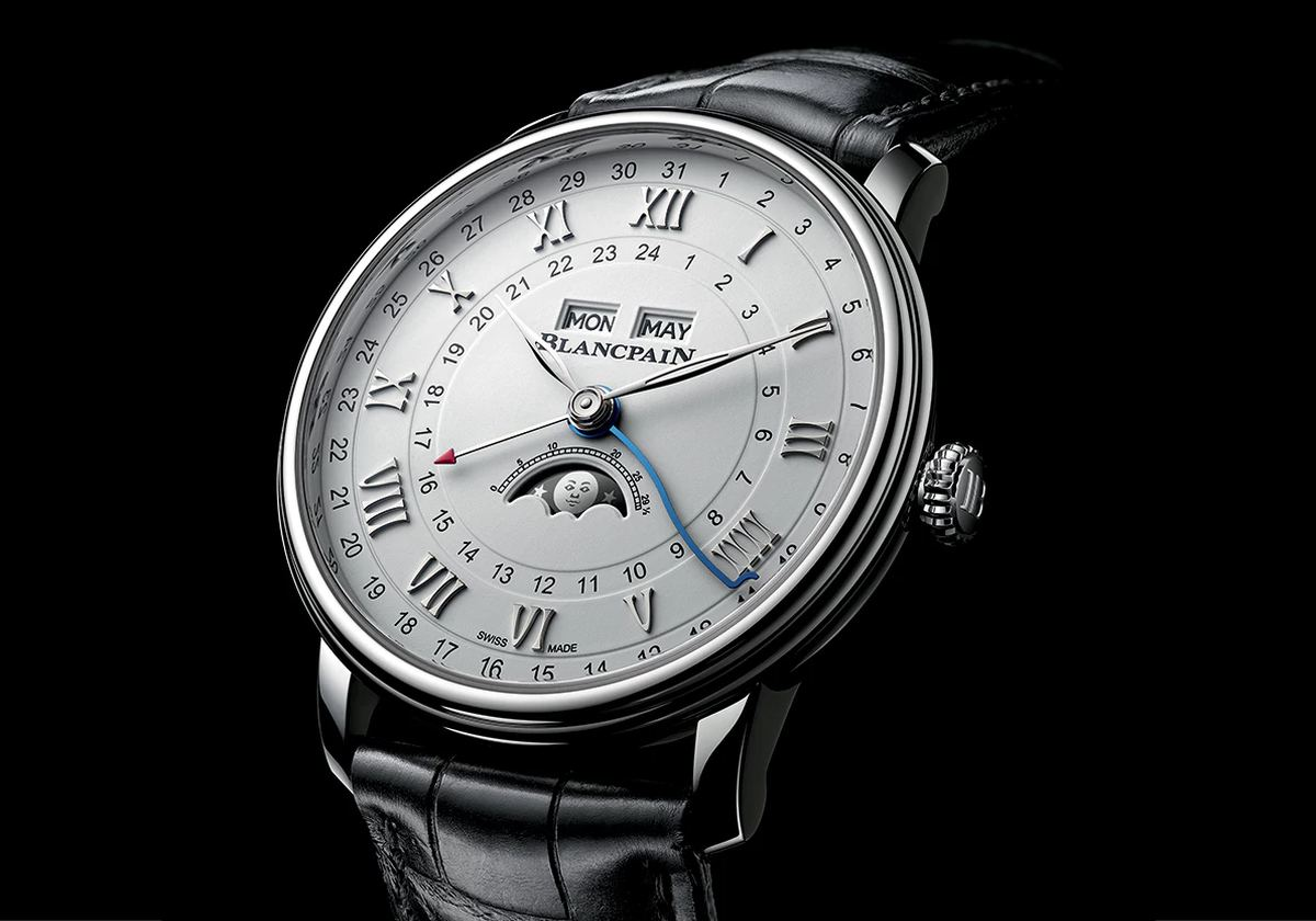 Blancpain Villeret Quantième Complet GMT (Anteprima Basel 2018) Orologi Replica Onine Shopping