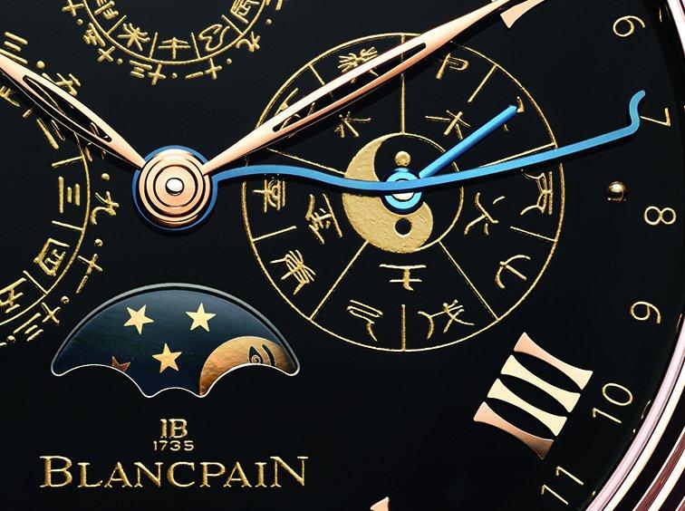 dettaglio Calendario Cinese Tradizionale Only Watch 2015