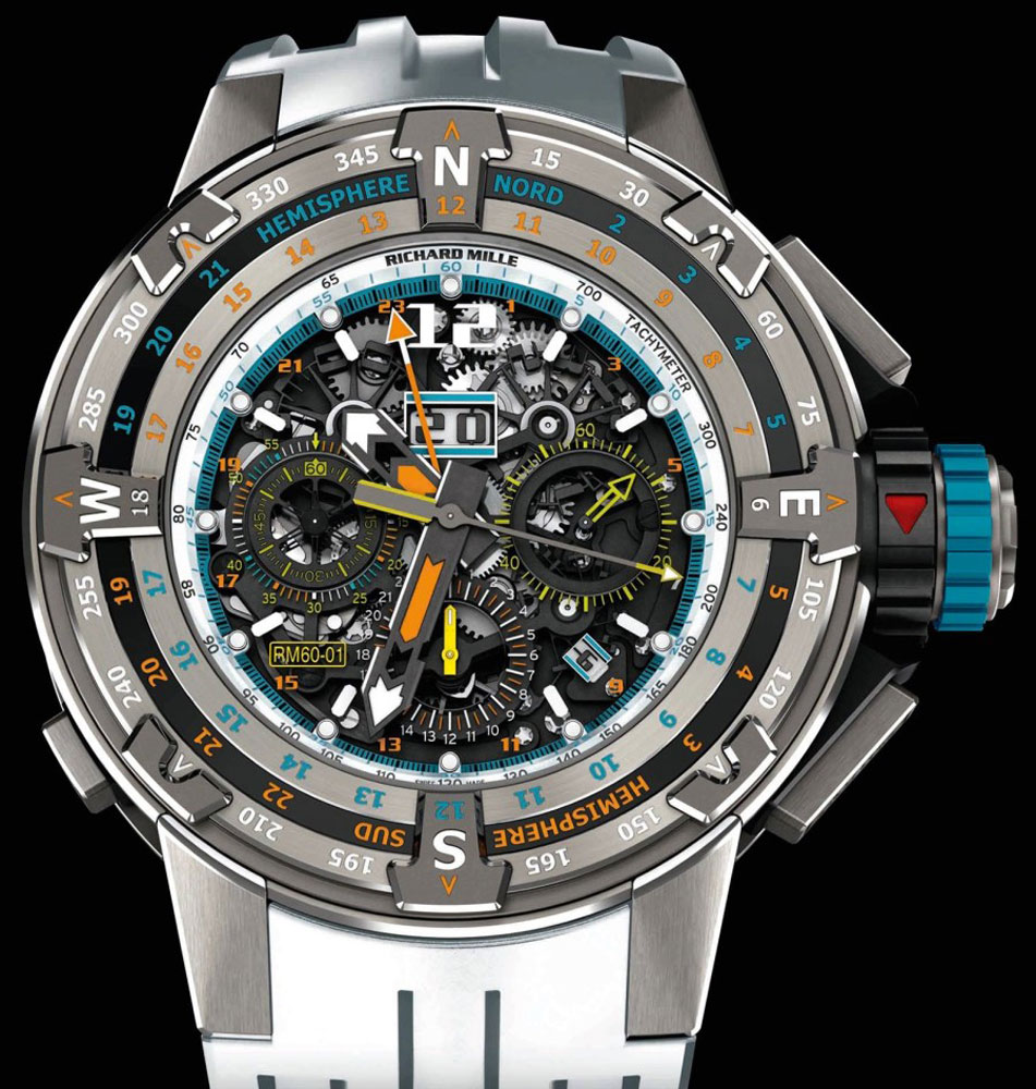 Miglior falso Richard Mille RM 60-01 Chronograph Flyback Regatta
