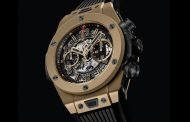 NOI Pre Baselworld 2015 Hublot Big Bang Unico Full Magic Gold Clone 1: 1