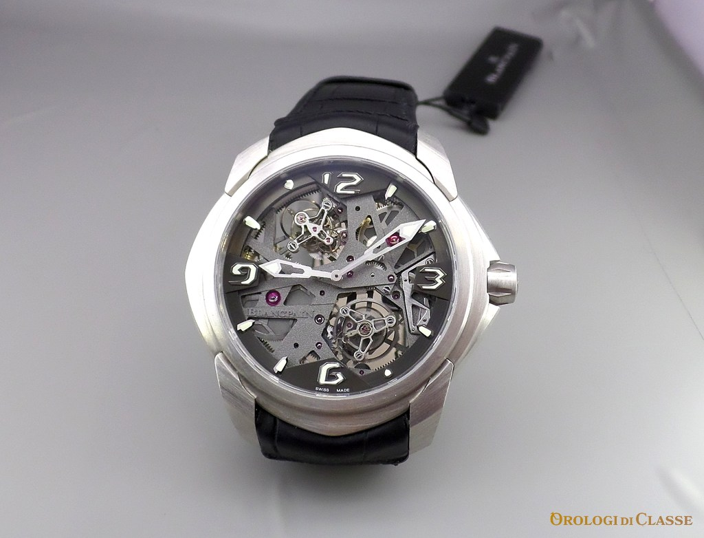 Blancpain L-Evolution Tourbillon Carrousel – Da un estremo all'altro! USA falso
